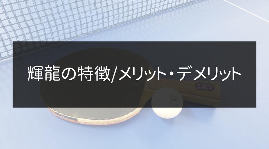 輝龍の特徴/メリット・デメリット